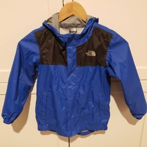 The North Face Tailout Hooded Rain Jacket Size 5